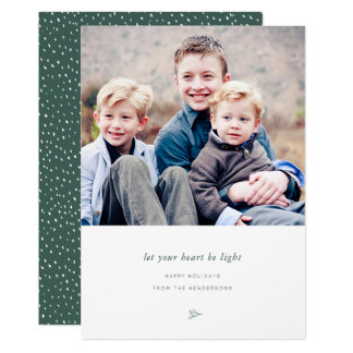 Lighthearted Holiday Photo Card