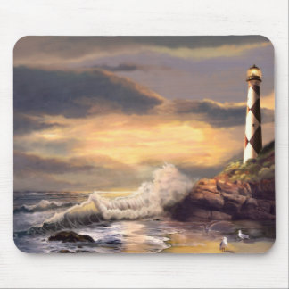 Lighthous Mouse Pad  Cape Lookout at Sunset
