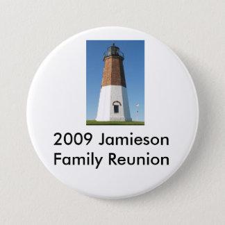 lighthouse1, 2009 Jamieson Family Reunion Pinback Button