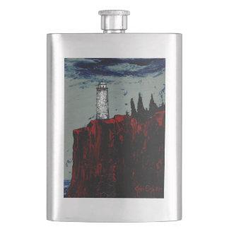 LIGHTHOUSE 1200 (a landscape design) ~ Hip Flask