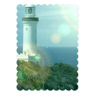 """lighthouse-12 invitación 5"""" x 7"""""""