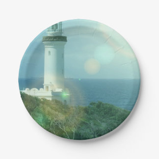 lighthouse-12 7 inch paper plate