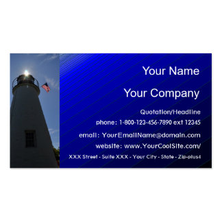 Lighthouse 1 - business card template