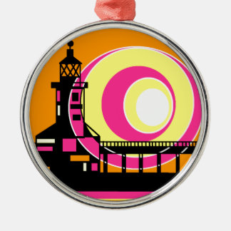 Lighthouse 1.png metal ornament