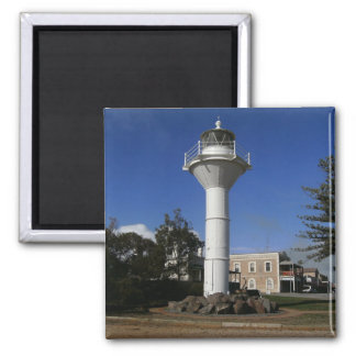 Lighthouse 2 Inch Square Magnet