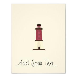 Lighthouse 4.25x5.5 Paper Invitation Card