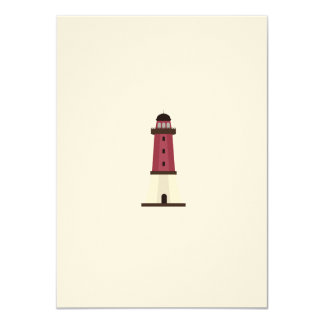 Lighthouse 4.5x6.25 Paper Invitation Card