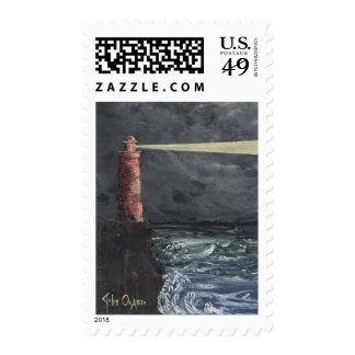 LIGHTHOUSE 4 ~ ON THE JOB POSTAGE
