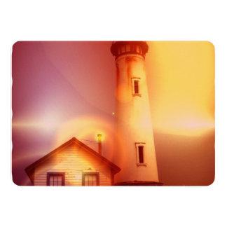 """lighthouse-51 invitación 5"""" x 7"""""""