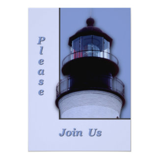 Lighthouse 5x7 Paper Invitation Card