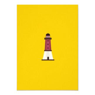 Lighthouse 5x7 Paper Invitation Card