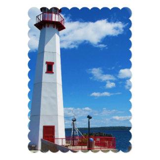 """lighthouse-63 invitación 5"""" x 7"""""""