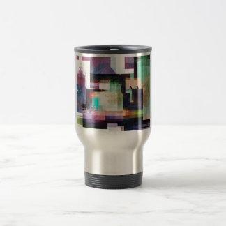 Lighthouse Abstract Travel Mug