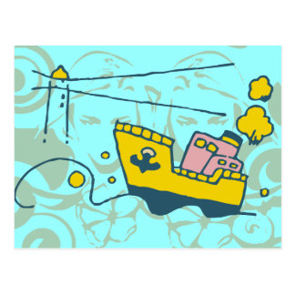 Lighthouse Ahead Tshirts and Gifts Postcard