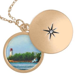 Lighthouse and Boat Nassau Bahamas Jewelry