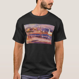 Lighthouse and Fort Carre Antibes by Pierre-August T-Shirt