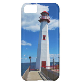 Lighthouse and pier cover for iPhone 5C