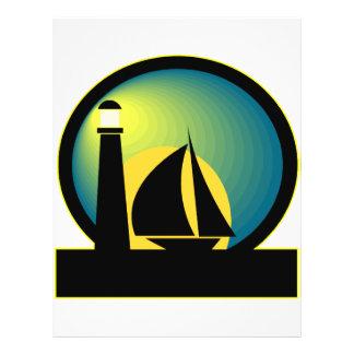Lighthouse and Sailboat Custom Flyer