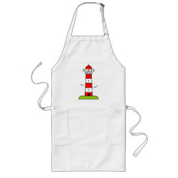 Lighthouse apron for men and women