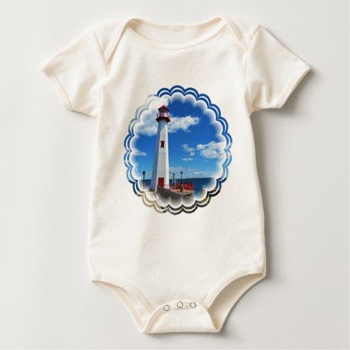 Lighthouse Art Infant Bodysuits