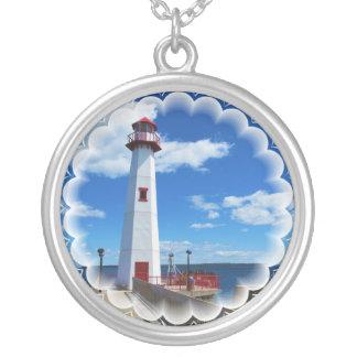 Lighthouse Art Necklace