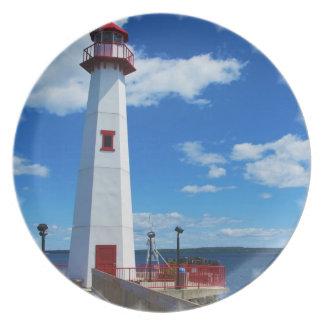 Lighthouse Art Plate