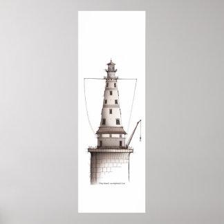 lighthouse art print 1, tony fernandes