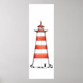 lighthouse art print 2, tony fernandes