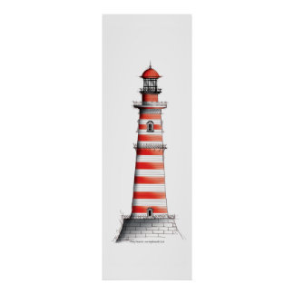 lighthouse art print 4, tony fernandes