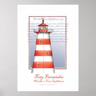 lighthouse art print no.2, tony fernandes