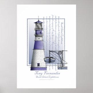 lighthouse art print no.3, tony fernandes