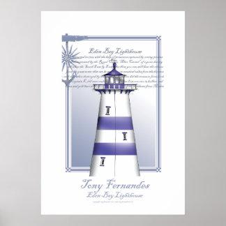lighthouse art print no.5, tony fernandes