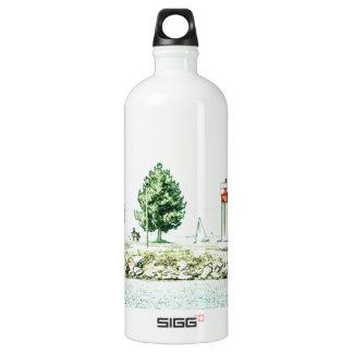Lighthouse At Andrew Haydon Park Water Bottle