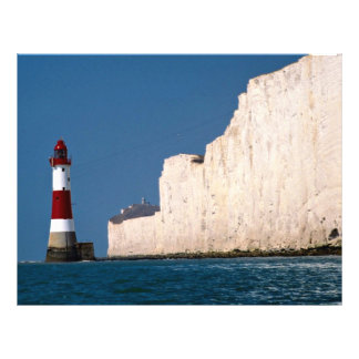 Lighthouse at Beachy Head, Eastbourne, East Sussex Flyer