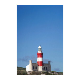 Lighthouse At Cape Agulhas, Western Cape Canvas Print