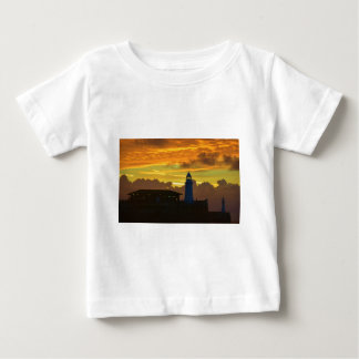 Lighthouse At Dawn Baby T-Shirt