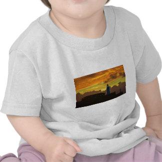 Lighthouse At Dawn T Shirt