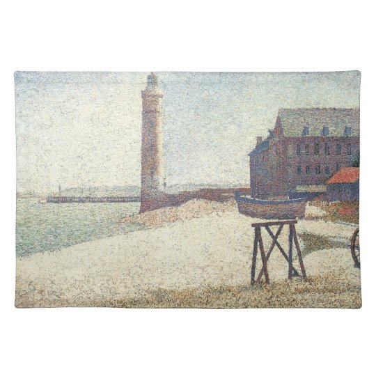 Lighthouse at Honfleur Cloth Placemat