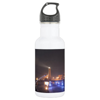 Lighthouse at Licata. Water Bottle