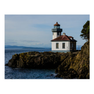 Lighthouse at Lime Kiln Point, San Juan Island, Wa Postcard