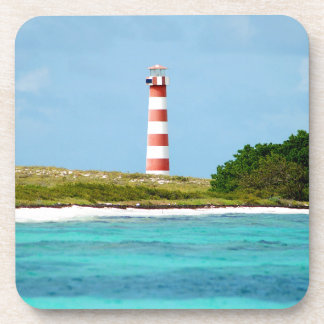 Lighthouse at Los Roques - Venezuela Beverage Coasters