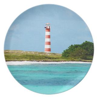 Lighthouse at Los Roques - Venezuela Plate