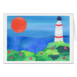 Lighthouse at Montauk Point Cards