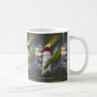 Lighthouse at night Key West, Florida Coffee Mug