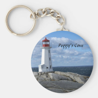 Lighthouse at Peggy's Cove Keychain