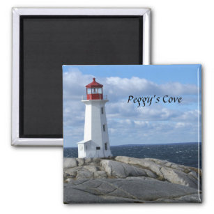 Lighthouse at Peggy's Cove Magnet