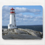 Lighthouse at Peggy's Cove Mousepad