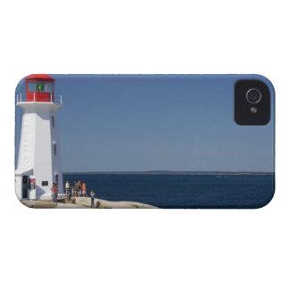 Lighthouse at Peggy's Cove, Nova Scotia, Canada. iPhone 4 Covers