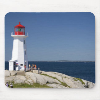 Lighthouse at Peggy's Cove, Nova Scotia, Canada. Mouse Pad