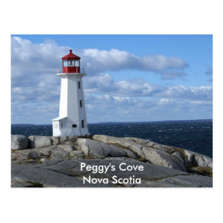 Lighthouse at Peggy's Cove Postcards